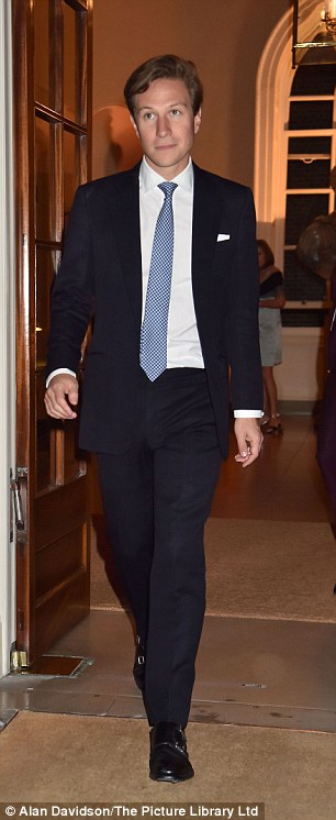 Princess Beatrice's long-term boyfriend Dave Clark makes his exit after the party