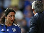 Chelsea's doctor Eva Carneiro appears to have an argument with Jose Mourinho manager of Chelsea during the Barclays Premier League match between  Chelsea and Swansea  played at Stamford Bridge, London.. Barclays Premier League 2015/16 Chelsea v Swansea City Stamford Bridge, Fulham Rd, London, United Kingdom - 8 Aug 2015.. ..  Editorial use only. No merchandising. For Football images FA and Premier League restrictions apply inc. no internet/mobile usage without FAPL license - for details contact Football Dataco.. Mandatory Credit: Photo by BPI/REX Shutterstock (4931278ae)..