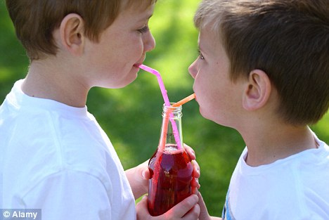 Uncertainty: Researchers say that they do want children to drink less sugar in their beverages but the artificial products' long-term effects are uncertain