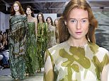 epa04938104 Models present creations from the Spring/Summer 2016 collection by British designer Jasper Conran during the London Fashion Week, in London, Britain, 19 September 2015. The presentation of the Women's collections runs from 18 to 22 September.  EPA/HANNAH MCKAY