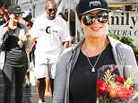 "Calabasas, CA - Reality Star Kris Jenner and boyfriend Corey Gamble run a few errands as they leave the farmers market in Calabasas this morning. Kris might just be the next of her ever expanding to walk down the aisle, as it's thought she's only gone and got engaged to her boyfriend. According to reports the Kardashian matriarch says her relationship with Corey, who is 26 years younger than her, is ""the real deal"".\n AKM-GSI September 19, 2015\n \n To License These Photos, Please Contact :\n \n Steve Ginsburg\n (310) 505-8447\n (323) 423-9397\n steve@akmgsi.com\n sales@akmgsi.com\n \n or\n \n Maria Buda\n (917) 242-1505\n mbuda@akmgsi.com\n ginsburgspalyinc@gmail.com"