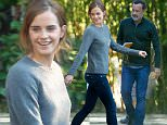 Pasadena, CA - Emma Watson and Tom Hanks return to their rides after filming some scenes for their upcoming film 'The Circle' in Pasadena, California. \n \nAKM-GSI     September 18, 2015\nTo License These Photos, Please Contact :\nSteve Ginsburg\n(310) 505-8447\n(323) 423-9397\nsteve@akmgsi.com\nsales@akmgsi.com\nor\nMaria Buda\n(917) 242-1505\nmbuda@akmgsi.com\nginsburgspalyinc@gmail.com