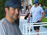 Picture Shows: Bradley Cooper  September 18, 2015\n \n Actor Bradley Cooper is spotted leaving a gym in West Hollywood, California after enjoying a workout.\n \n Exclusive All Rounder\n UK RIGHTS ONLY\n FameFlynet UK © 2015\n Tel : +44 (0)20 3551 5049\n Email : info@fameflynet.uk.com