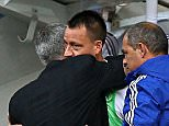 Jose Mourinho manager of Chelsea celebrates with John Terry of Chelsea after the final whistle   during the Barclays Premier League match Chelsea and Arsenal  played at Stamford Bridge, London -------------------- Michael Zemanek / BPI Barclays Premier League 2015/16 Chelsea v Arsenal Stamford Bridge, Fulham Rd, London, United Kingdom 19 September 2015 ©2015 Michael Zemanek / BPI all rights reserved