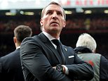 MANCHESTER, ENGLAND - SEPTEMBER 12:  (THE SUN OUT, THE SUN ON SUNDAY OUT) Brendan Rodgers manager of Liverpool during the Barclays Premier League match between Manchester United and Liverpool on September 12, 2015 in Manchester, United Kingdom.  (Photo by John Powell/Liverpool FC via Getty Images)