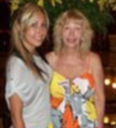 Family: Yelena and her mother Anna who were stabbed to death