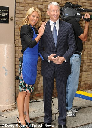 """Celebrities visit """"Live with Regis and Kelly"""" at the ABC studios in the Upper West Side"""