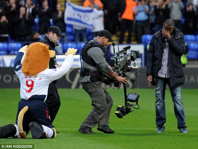 Until today it was unclear whether or not Muamba would return to playing the sport he loved
