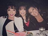 I'm so sad to hear about the passing of Jackie Collins..my love and prayers go out to her family and friends and to her sister Joan..what an amazing woman.... It was a joy and honor to have known her. @jackiejcollins @joancollinsdbe #love