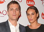 NEW YORK, NY - SEPTEMBER 09:  Musician Rob Thomas (L) and wife Marisol Maldonado attend the LAVA Records 13th anniversary party at TAO Downtown on September 9, 2014 in New York City.  (Photo by Chelsea Lauren/Getty Images)