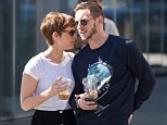 September 18th 2015: Kate Mara and Jamie Bell seen out for a stroll on last Friday of summer in New York City, USA.  Pictured: Kate Mara and Jamie Bell Ref: SPL1130841  180915   Picture by: Splash News  Splash News and Pictures Los Angeles: 310-821-2666 New York: 212-619-2666 London: 870-934-2666 photodesk@splashnews.com