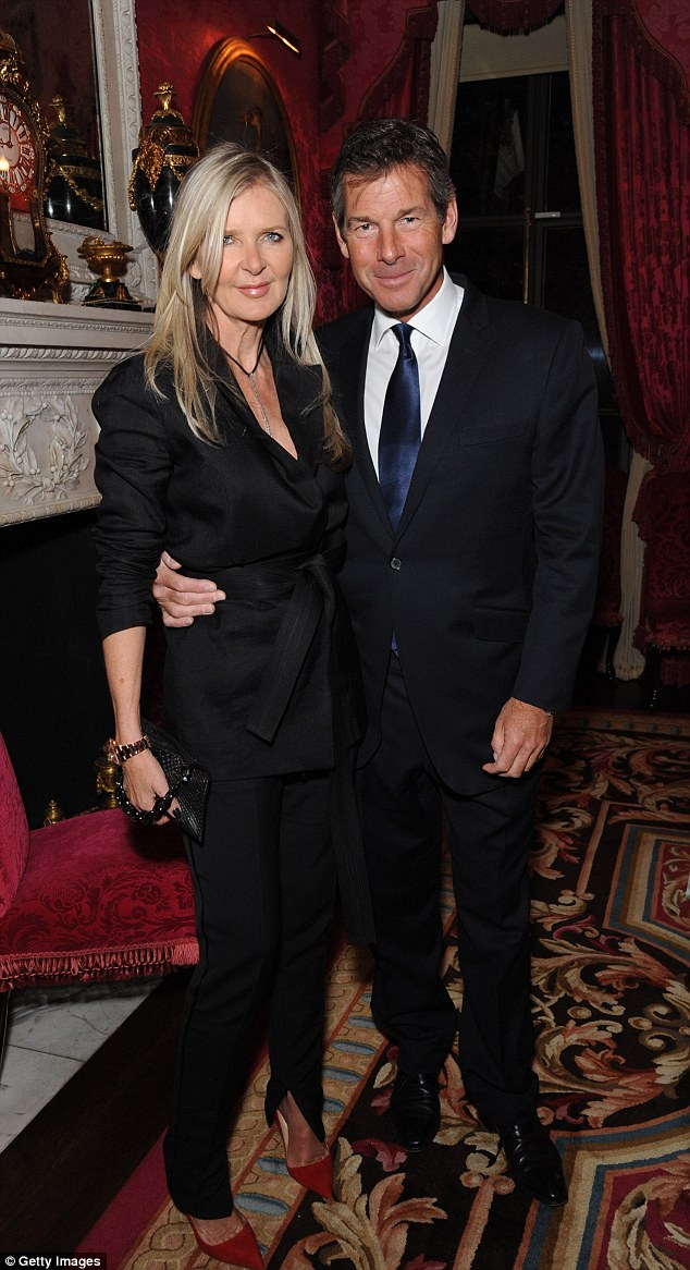 Fashion designer Amanda Wakeley and Hugh Morrison attended the Tatler Best Of British party