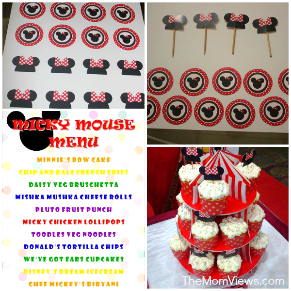 Minnie_Party_Food