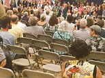 September 18, 2015  Town Hall in Concord, New Hampshire