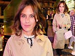 LONDON, ENGLAND - SEPTEMBER 18:  Alexa Chung attends the Bleach 5th birthday party introducing their new Berwick Street Salon during London Fashion Week SS16 on September 18, 2015 in London, England.  (Photo by David M. Benett/Dave Benett/Getty Images)