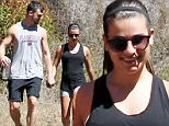 142674, EXCLUSIVE: Lea Michele goes hiking with her boyfriend Matthew Paetz in Los Angeles. Los Angeles, California - Saturday September 19, 2015. Photograph: © PacificCoastNews. Los Angeles Office: +1 310.822.0419 sales@pacificcoastnews.com FEE MUST BE AGREED PRIOR TO USAGE