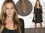 Sarah Jessica Parker Launches SJP Collection at Bloomingdale's NY\nBloomingdale's 59th Street, NY\n\nPictured: Sarah Jessica Parker\nRef: SPL1130829  190915  \nPicture by: Mayer RCF / Splash News\n\nSplash News and Pictures\nLos Angeles: 310-821-2666\nNew York: 212-619-2666\nLondon: 870-934-2666\nphotodesk@splashnews.com\n