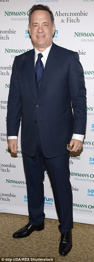 Guest list: Andy Cohen and Tom Hanks were also attending
