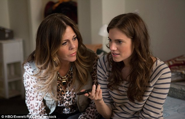 Connection: Tom's wife Rita Wilson stars with Allison in Girls