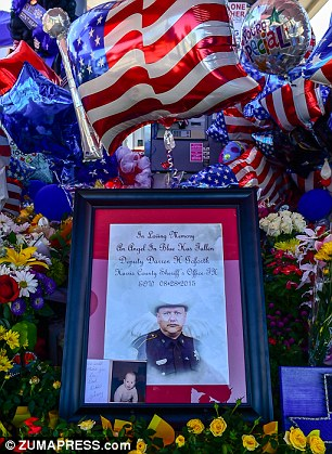 Goforth, a sheriff's deputy in Harris County, Texas, left behind a wife and two children, aged five and 12