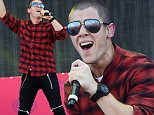 LAS VEGAS, NV - SEPTEMBER 19:  Singer/songwriter Nick Jonas performs onsgtage at The Daytime Village during the 2015 iHeart Radio Music Festival at the Las Vegas Village on September 19, 2015 in Las Vegas, Nevada.  (Photo by Jeff Kravitz/FilmMagic)
