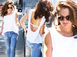 Minka Kelly looked amazing, as she left a Beverly Hills salon.  The actress was in a white top and washed-out jeans, on Friday, September 18, 2015 X17online.com\\nOK FOR WEB SITE USAGE AT 20PP\\nMAGAZINES NORMAL FEES\\nAny queries call X17 UK Office 0034 966 713 949\\nGary 0034 686421720\\nLynne 0034 611100011 \\nAlasdair 0034 965998830