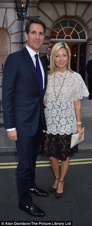 Crown Prince Pavlos and Crown Princess Marie-Chantal of Greece arrive for the pre-wedding party