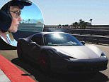 caitlyn kylie jenner car racing