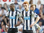 """Football - Newcastle United v Watford - Barclays Premier League - St James' Park - 19/9/15  Newcastle's Jack Colback looks dejected  Reuters / Andrew Yates  Livepic  EDITORIAL USE ONLY. No use with unauthorized audio, video, data, fixture lists, club/league logos or """"live"""" services. Online in-match use limited to 45 images, no video emulation. No use in betting, games or single club/league/player publications.  Please contact your account representative for further details."""