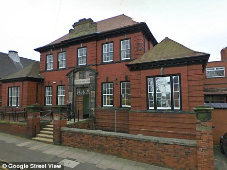 Stoke-on-Trent Magistrates Court (pictured) heard how Barker 'started stressing' once he was inside the victim's house