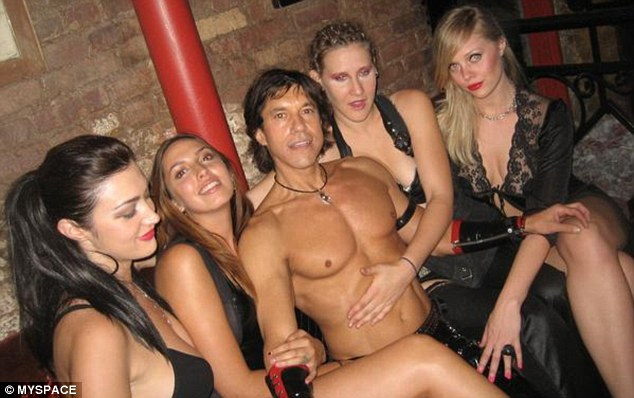 King Eddo: Pictures on Sonderling's MySpace page shows he is not shy about his S&m lifestyle