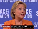"Democratic presidential candidate Hillary Clinton said Sunday that the United States should accept 65,000 refugees from Syria to help alleviate the humanitarian crisis created by the war there.  ""We're facing the worst refugee crisis since the end of World War II and I think the United States has to do more,"" the former secretary of state said Sunday on CBS' ""Face the Nation."" ""I would like to see us move from what is a good start with 10,000 to 65,000 and begin immediately to put into place the mechanisms for vetting the people that we would take in.""  She said there should be a focus on admitting the most vulnerable, like persecuted religious minorities, or those who had been brutalized, like the Yazidi women.  Clinton also said, ""I want the United States to lead the world,"" and said the United Nations Secretary General should call for a meeting at the upcoming U.N. General Assembly meeting in which countries make specific commitments about to provide money and aid.  Former Maryland"