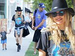 Picture Shows: Axl Duhamel, Fergie  September 20, 2015\n \n Proud parents Fergie and Josh Duhamel are spotted leaving a park in Brentwood, California with her growing boy Axl. Fergie has been busy as of late working on her new album.\n \n Non Exclusive\n UK RIGHTS ONLY\n \n Pictures by : FameFlynet UK © 2015\n Tel : +44 (0)20 3551 5049\n Email : info@fameflynet.uk.com