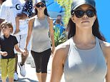 Kourtney Kardashian along with Mason And Penelope And Kris Jenner And her boyfriend Corey Gamble go to the Farmers Market in Los Angeles\n\nPictured: Kourtney Kardashian, Penelope, Mason, Kris Jenner And Corey Gamble\nRef: SPL1131281  190915  \nPicture by: Photographer Group / Splash News\n\nSplash News and Pictures\nLos Angeles: 310-821-2666\nNew York: 212-619-2666\nLondon: 870-934-2666\nphotodesk@splashnews.com\n