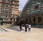 We've been filming today at Liverpool Lime Street Station, it looks amazing with our natural stone paving and granite steps, a great project...Image from Marshalls group open facebook site - for Nikki