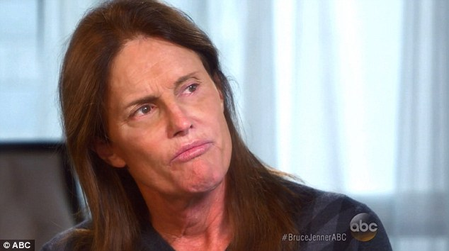 Shocking story: Bruce made international headlines when he revealed last Friday in an interview with Diane Sawyer that he identifies as a woman and that he has been secretly dressing as one in public for years