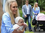 **EXCLUSIVE**\nShane Watson, Lee Watson celebrate the Christening of their youngest child Matilda at Vaucluse House in Sydney. The star couple were joined by a small group of friends and family. Matilda was Christened at¿¿a Bondi Junction Church.