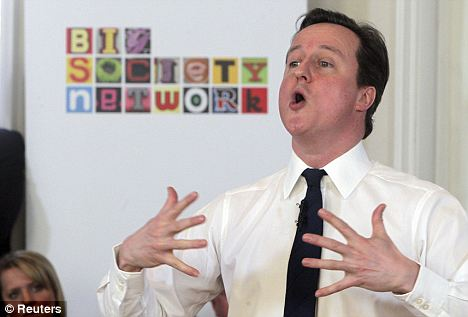 Building trust: The Prime Minister believes the public reading scheme will improve British politics