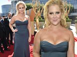 IMAGE DISTRIBUTED FOR THE TELEVISION ACADEMY - Amy Schumer arrives at the 67th Primetime Emmy Awards on Sunday, Sept. 20, 2015, at the Microsoft Theater in Los Angeles. (Photo by Dan Steinberg/Invision for the Television Academy/AP Images)