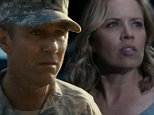 """LOS ANGELES, CA � September 20, 2015: Fear the Walking Dead\nMadison and Travis see different sides of the National Guard occupation of their neighborhood. The family tries to adapt to the new world\nWhat did the world look like as it was transforming into the horrifying apocalypse depicted in """"The Walking Dead""""? This spin-off set in Los Angeles, following new characters as they face the beginning of the end of the world, will answer that question. \n"""