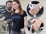 Picture Shows: Ben Affleck, Jennifer Garner  September 18, 2015\n \n Estranged couple, Ben Affleck and Jennifer Garner, are spotted picking up their daughters, Seraphina & Violet, from Karate Class in Los Angeles, California. The pair seem to be in good spirits despite the fact that they are going through a divorce.\n \n EXCLUSIVE ALL ROUNDER\n UK RIGHTS ONLY\n Pictures by : FameFlynet UK © 2015\n Tel : +44 (0)20 3551 5049\n Email : info@fameflynet.uk.com