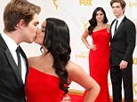 ariel winter kissing emmys