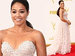 Mandatory Credit: Photo by Jim Smeal/REX Shutterstock (5120765bd)\n Gina Rodriguez\n 67th Primetime Emmy Awards, Arrivals, Los Angeles, America - 20 Sep 2015\n \n