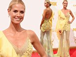 LOS ANGELES, CA - SEPTEMBER 20:  TV personality/model Heidi Klum attends the 67th Annual Primetime Emmy Awards at Microsoft Theater on September 20, 2015 in Los Angeles, California.  (Photo by Steve Granitz/WireImage)
