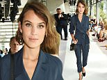 LONDON, ENGLAND - SEPTEMBER 20:  Alexa Chung attends the Topshop Unique show during London Fashion Week SS16 at The Queen Elizabeth II Conference Centre on September 20, 2015 in London, England.  \nPic Credit: Dave Benett