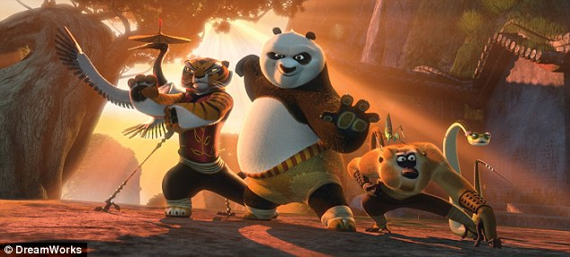 From the film: Po is named after the main character voiced by Jack Black in upcoming film Kung Fu Panda 2