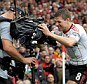 Inside view: Liverpool are allowing Fox access to their dressing room