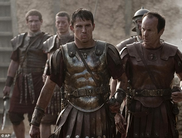 Latest film: Channing stars in the upcoming Roman period action movie The Eagle- Channing plays a young Roman soldier who endeavours to honour his father's memory by finding his lost legion's golden emblem