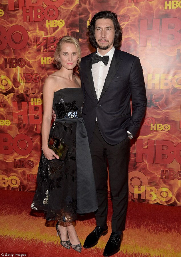 Lovebirds: The married couple also made an appearance at HBO's Official 2015 Emmy after-party at The Plaza, held at the Pacific Design Center