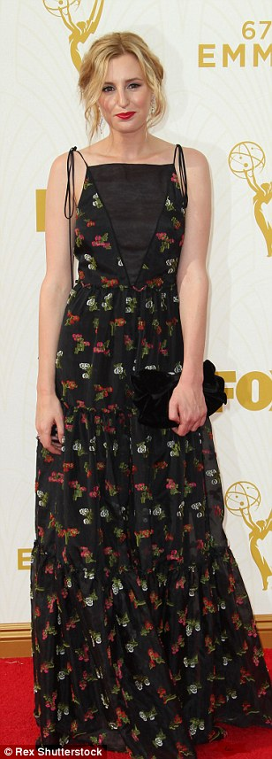 Mixing it up: Laura Carmichael, Ellie Kemper and Tracee Ellis Ross sported a variety of patterns, prints and styles